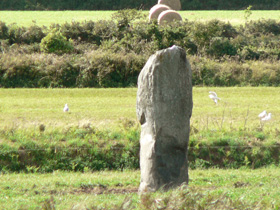 standing stone, Guernsey
