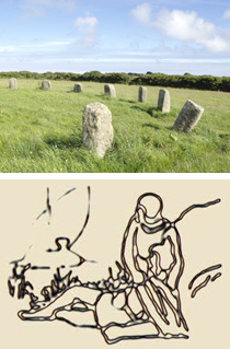 stone circle and king arthur